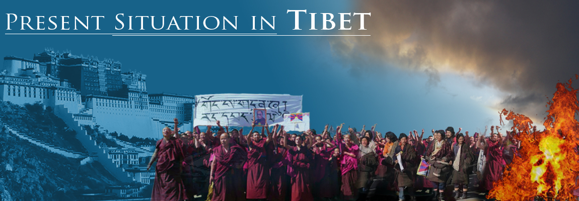 Present situation in Tibet
